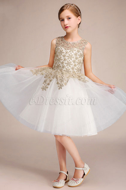 eDressit Short Lace Children Wedding Flower Girl Dress (28193907)