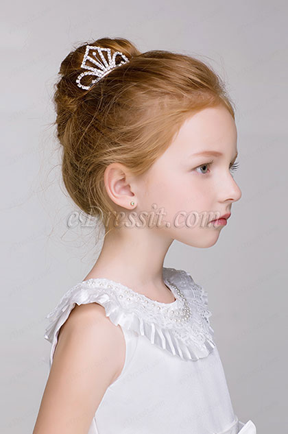 eDressit Shiny Beads Girl Children Headwear Hair Hoop (13191734)