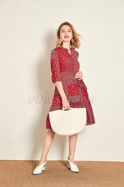 eDressit Short Chic Shirt Dress Day Dress (30193402)
