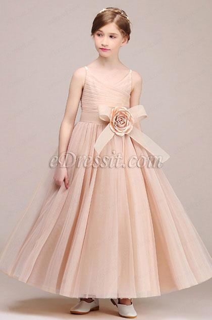 eDressit Lovely Sleeveless Wedding Flower Girl Dress (27192646)