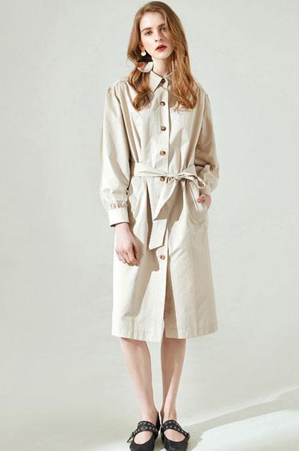 eDressit Fashion Shirt Dress Day Dress Wear to Work (30194107)