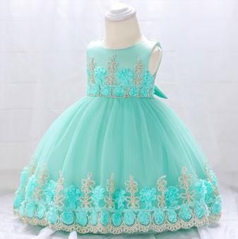 eDressit Round Neck Handmade Lace Baby Dress (2319030)
