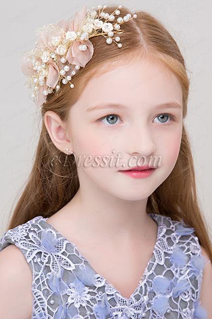 eDressit Flower Fairy Girl Headwear Hair Hoop (13191743)