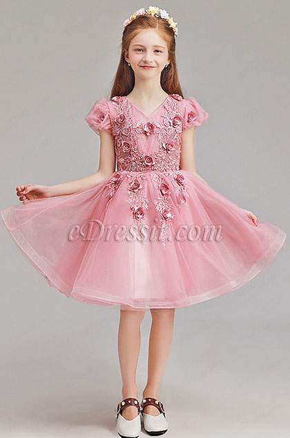 eDressit Lovely Handmade Wedding Flower Girl Party Dress (28195801)