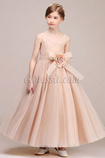 eDressit Lovely Sleeveless Wedding Flower Girl Dress (27192646)