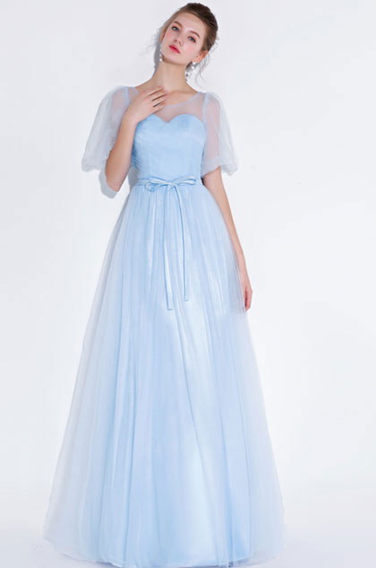 eDressit Sexy Blue Sweet Heart Bodice Tulle Party Prom Dress (36218705)