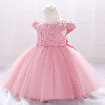 eDressit Lovely Lace Beadings Applique Baby Dress (2319025)