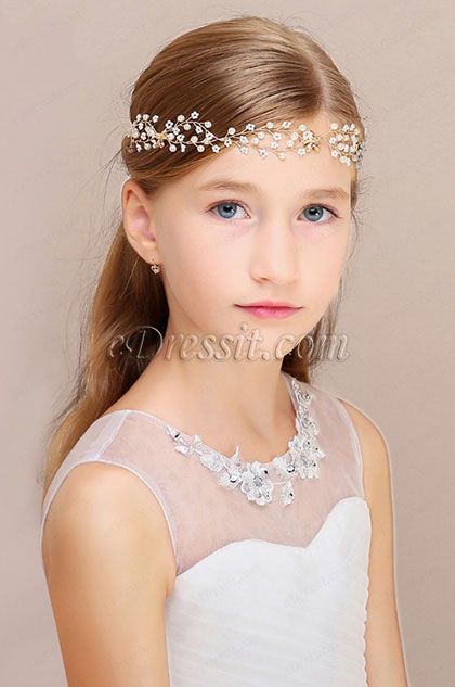 eDressit Cute Beads Girl Headwear Hair Hoop  (13190826)