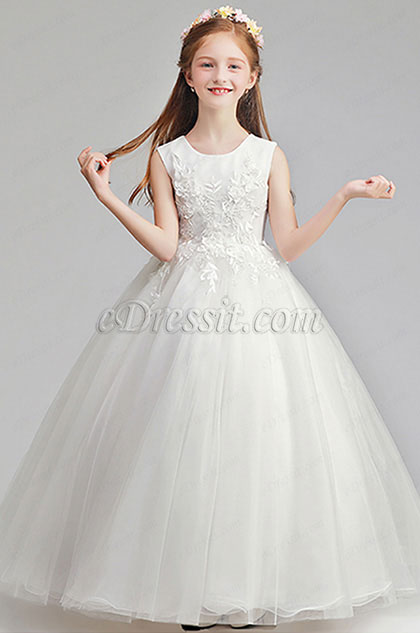 eDressit Romantic Wedding Flower Girl Party Dress (27196607)