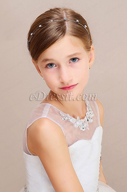 eDressit Nice Beads Girl Headwear Hair Hoop  (13190626)