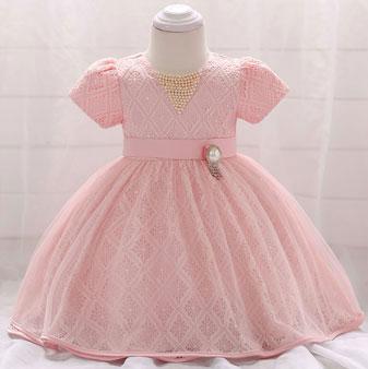 eDressit Lace Short Sleeves Baby Dress Infant Dress (2319041)