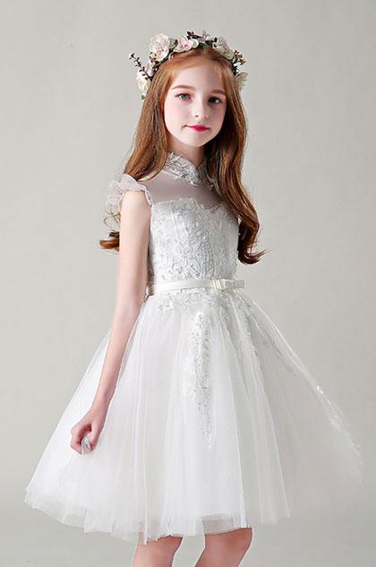 eDressit Bow-knot Lace Flower Girl Dress (28199507)