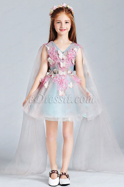 Lovely Flora Girl Wedding flower Girl Dress