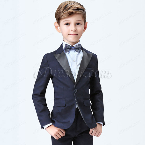 eDressit Dark Blue Boys Suits Children Wedding Tuxedo (16190605)