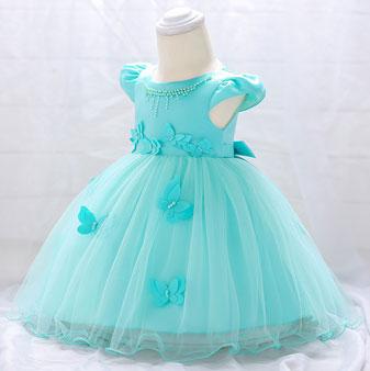 eDressit Cap Sleeves Tulle Baby Dress (2319032)