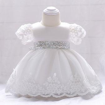 eDressit Lovely Lace Short Sleeves Baby Dress (2319023)