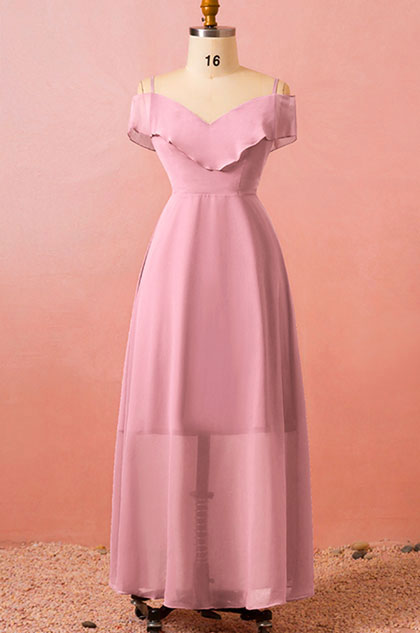eDressit Pink Off Shoulder Women Dress Plus Size Dress ...