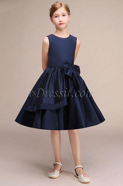 eDressit Navy Blue Short Princess Party Girl Dress (28191405)