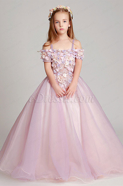 eDressit Pink Children Wedding Flower Girl  Dress (27190301)