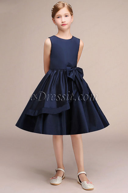 eDressit Navy Blue Short Princess Party Girl Dress (28191405)