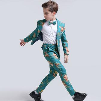 eDressit Boys Print One Button Closure Suits Show Tuxedo (16191368)