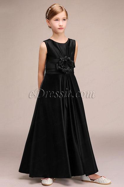 eDressit Black Children Wedding Flower Girl Dress (27193000)