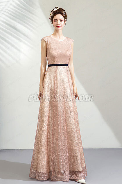 eDressit Cap Sleeve Sequins Tulle Formal Party Evening Dress (36211746)