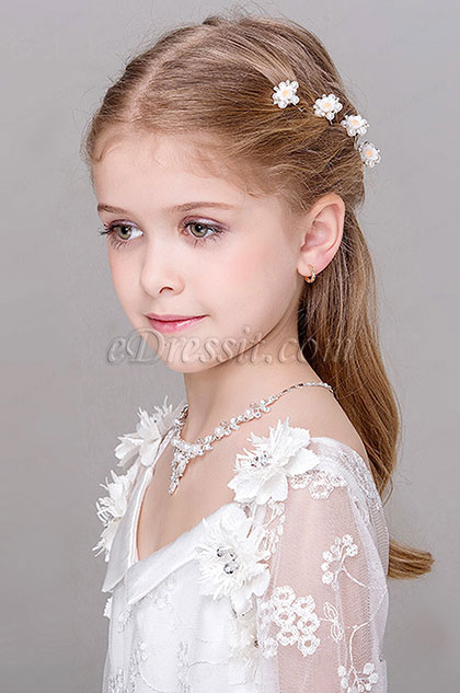 eDressit Pearl Beads Girl Headwear Hair (13191736)