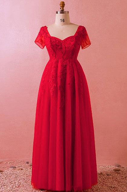 eDressit Classic Red Lace Women Dress Plus Size Dress (31193002)