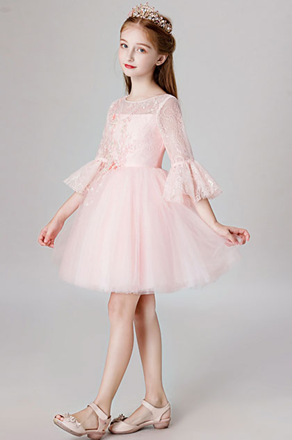 eDressit Princess Pink Children Wedding Flower Girl Dress (28201801)