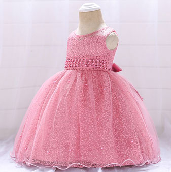 eDressit lovely Round Neck Lace Tulle  Baby Dress (2319015)