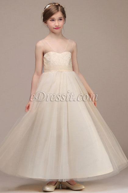 eDressit V-cut Wedding Flower Girl Party Dress (27194014)