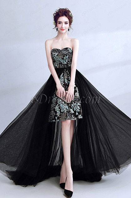 eDressit Sweetheart Long Train Party Prom Cocktail Dress (36205300)