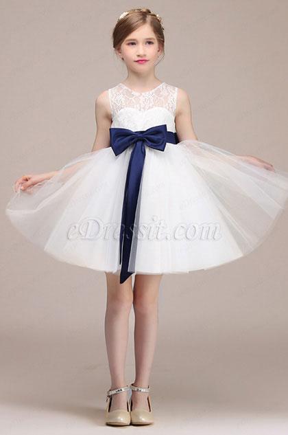eDressit Lovely White Wedding Flower Girl Dress (28192507)