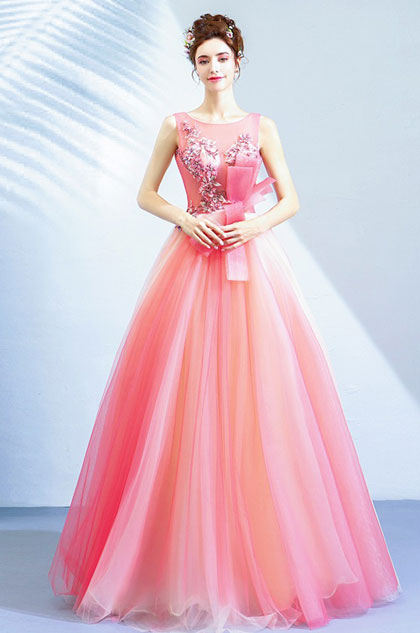 eDressit Sexy Illusion Neck Embroidery Tulle Party Women Dress (36222401)
