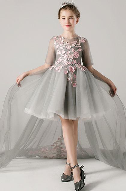 eDressit Princess Grey Children Wedding Flower Girl Dress (28198108)