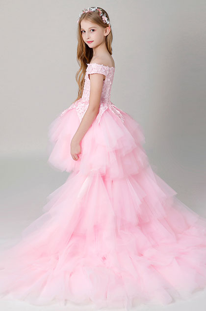 eDressit Princess Pink Children Wedding Flower Girl Dress (27204001)