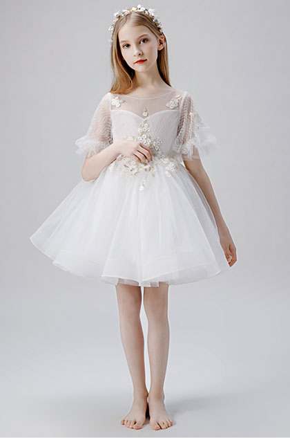 eDressit Round Neck Children Wedding Flower Girl Dress (28204207)