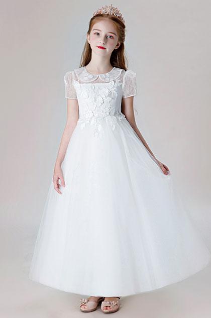 eDressit Short Sleeves Children Wedding Flower Girl Dress (27206007)