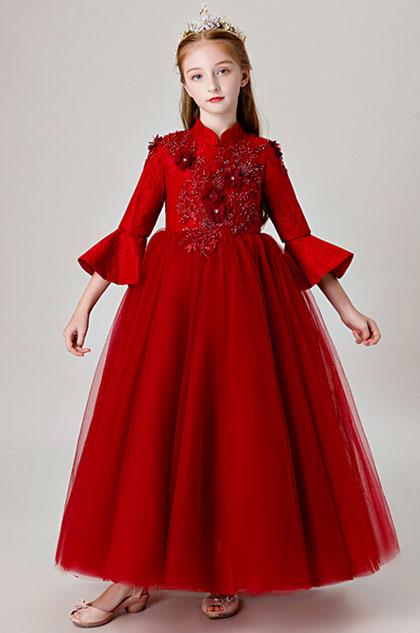 eDressit High Neck Children Wedding Flower Girl Dress (27205302)