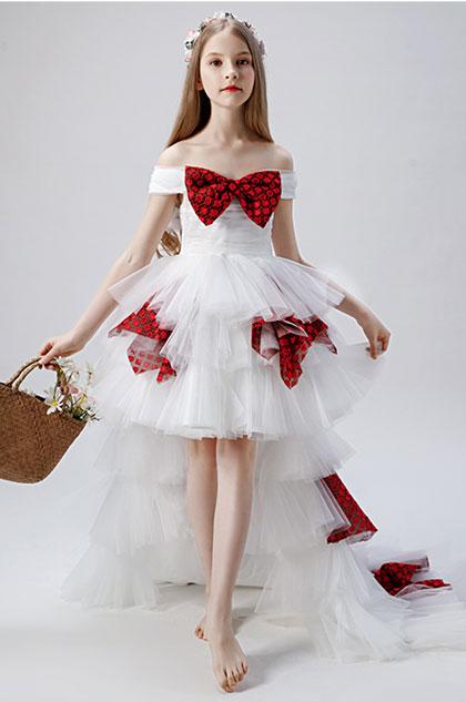 eDressit Bow-knot Children Wedding Flower Girl Dress (28202907)