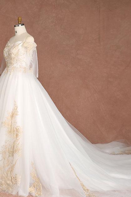 eDressit Princess Plus Size A-line Wedding Dress with Train (31194407)