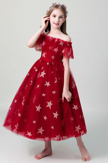 eDressit Princess Off Shoulder Wedding Flower Girl Dress (27203102)