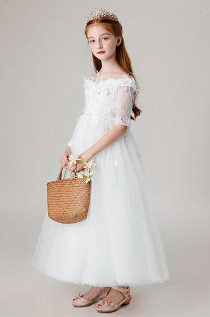 eDressit Off Shoulder Children Wedding Flower Girl Dress (27206407)