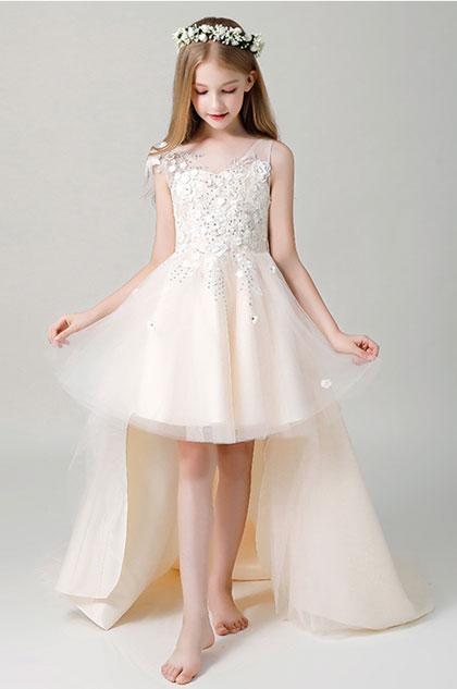 eDressit V-cut Children Wedding Flower Girl Dress (28201514)