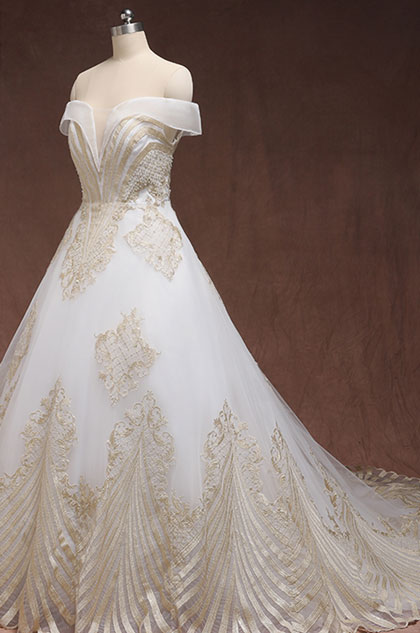 eDressit Elegant Off Shoulder Lace Wedding Dress Plus Size Dress (31194314)