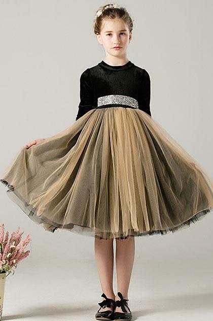 eDressit Princess Velvet Children Wedding Flower Girl Dress (28198200)