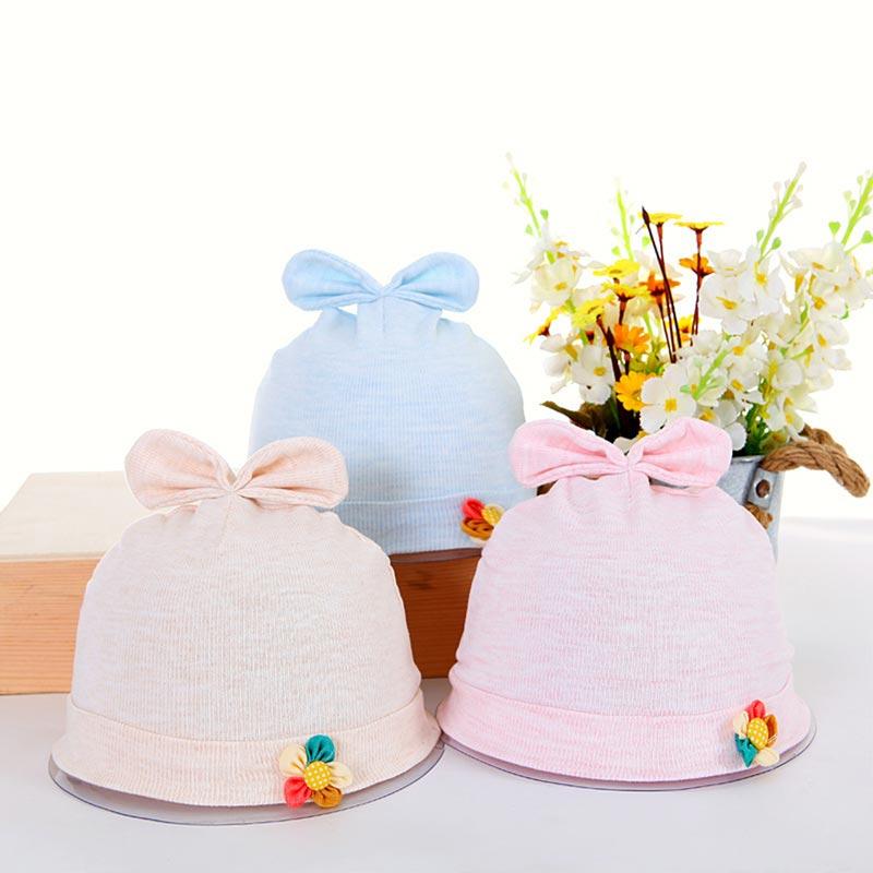 Newborn Baby Hats  Baby Boys Girls Infant Unisex Cotton Caps (TC0001)