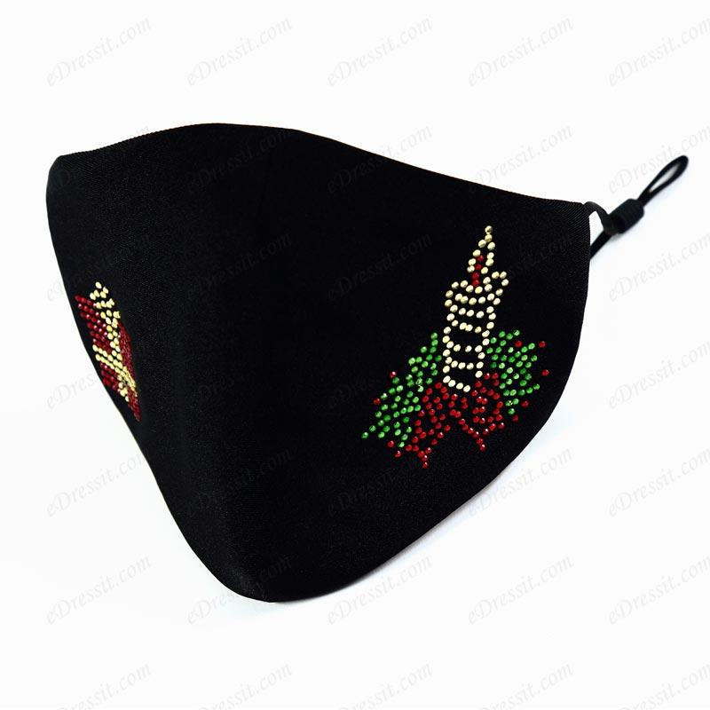 Christmas Protective Mask Washable and Adjustable Cloth (Mask023)
