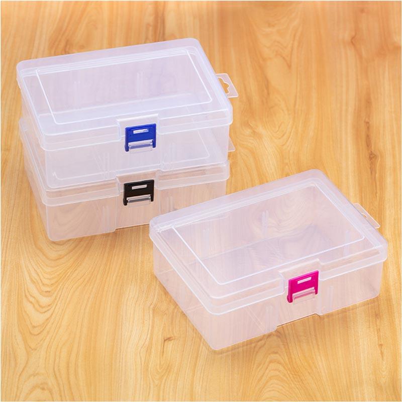 eDressit Rectangular Transparent Plastic Storage Box Packaging Box (TB0004)